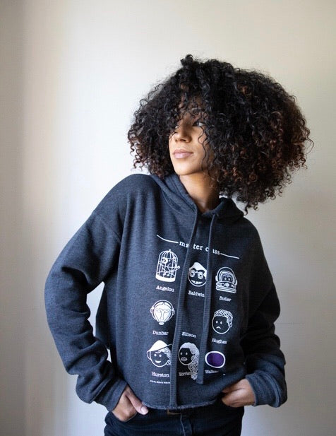 Master Class (Writers): Cropped Ladies Hoodie