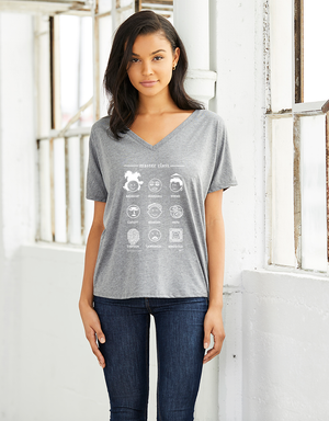 SALE  Master Class (Artists): Ladies V-neck Tee