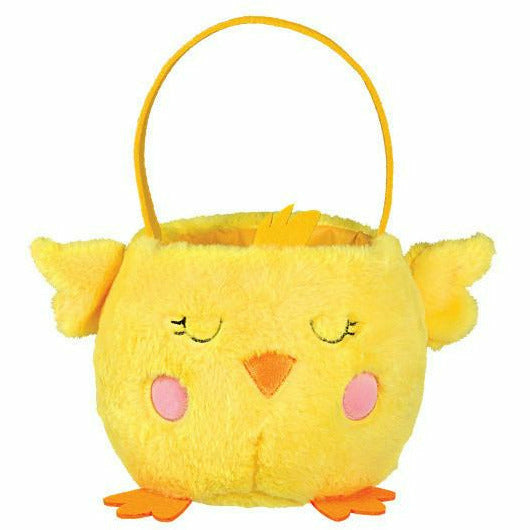 Plush Chick Easter Basket