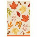 Fall Foliage Plastic Table Cover 54x108