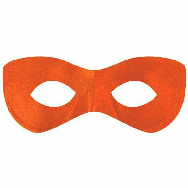 Orange SuperHero Mask