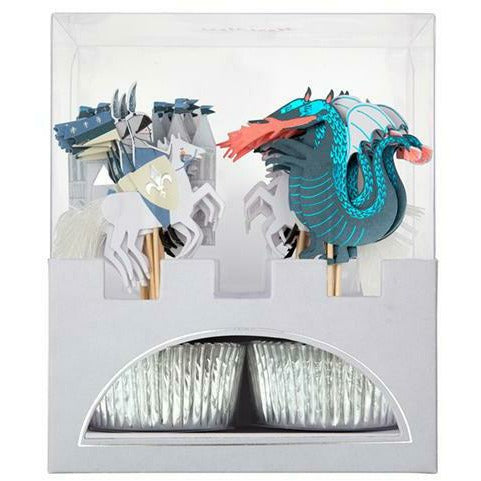 Dragon Knights Cupcake Kit
