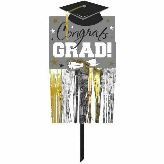 Grad Embellished Yard Sign