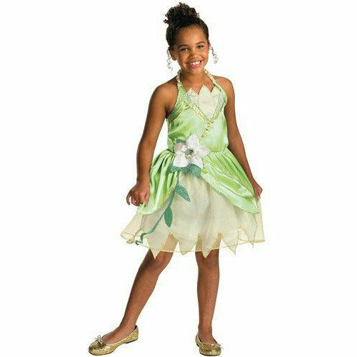 Girls Disney Princess Tiana Child Costume - The Princess and the Frog