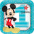 1st Birthday Mickey Mouse Lunch Plates 8ct
