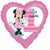 "496 Minnie Mouse 1st Birthday 17"" Mylar Balloon"