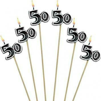 OH NO 50 STICK CANDLE