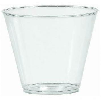 9 OZ PLASTIC CUPS 72 CT