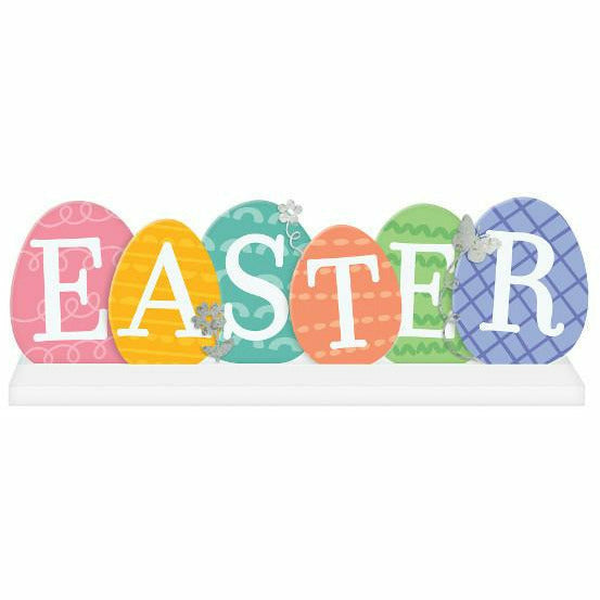 Easter Eggs Table Sign