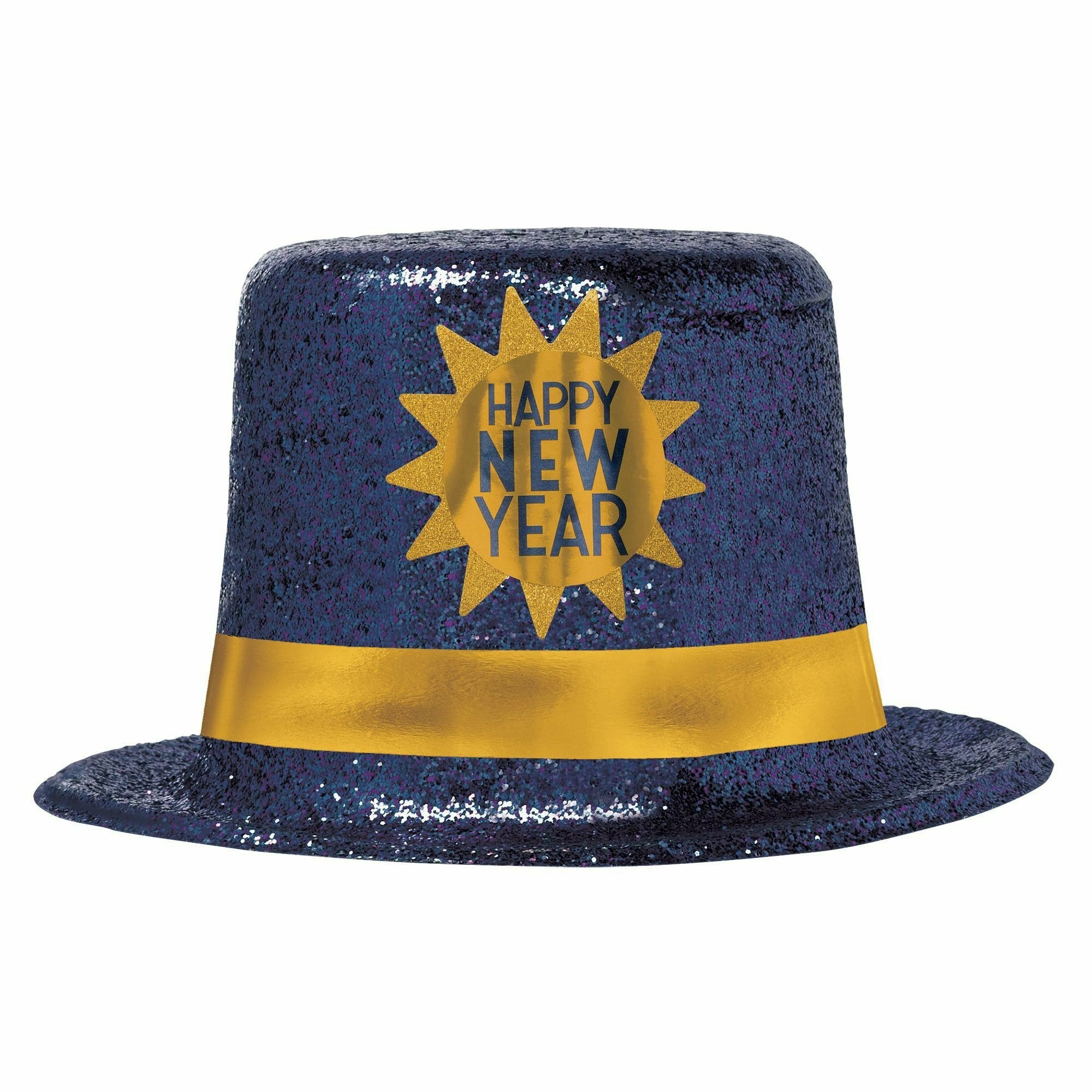 Happy New Year Midnight Top Hat
