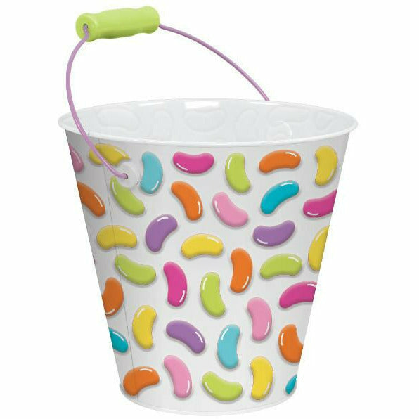 Jelly Bean Metal Pail
