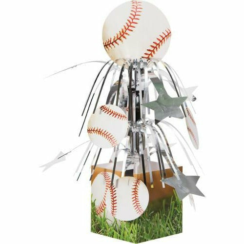 Sports Fanatic Baseball Cascade Centerpiece