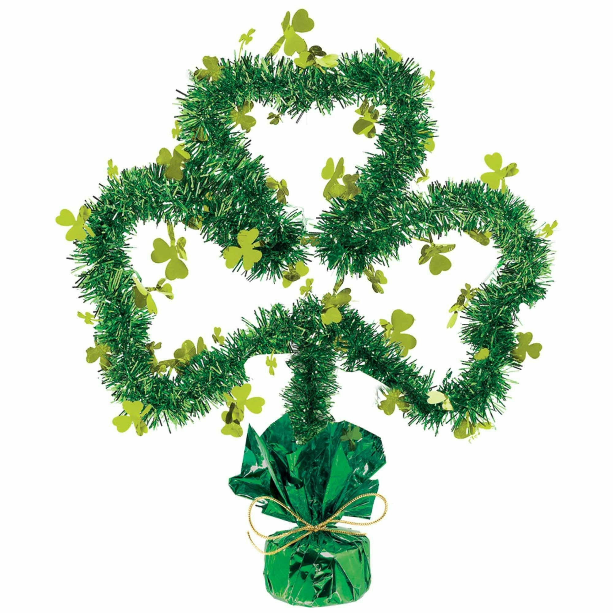 Shamrock Shape Centerpiece