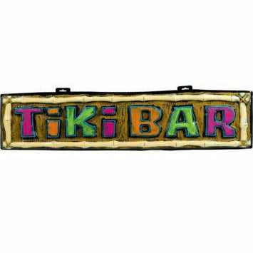 J10 TIKI BAR VAC FORM SIGN