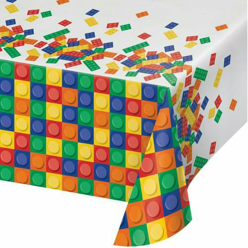 Building Blocks Table Cover 54x108