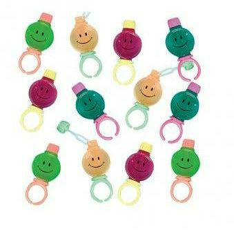 FAVOR SMILE BUBBLE RINGS VL PK