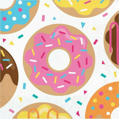Donut Time Lunch Napkins 16ct