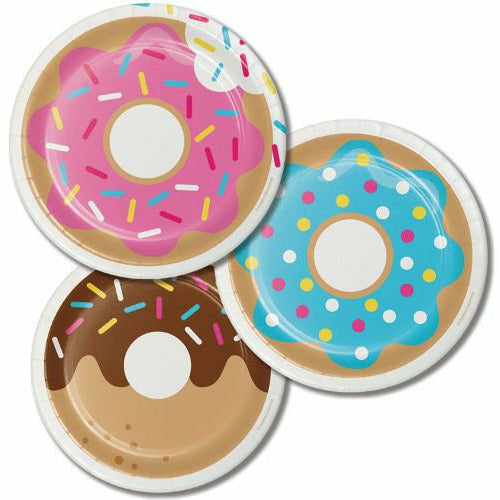 Donut Time Lunch Plates 8ct