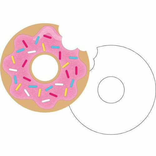 Donut Time Invitations 8ct