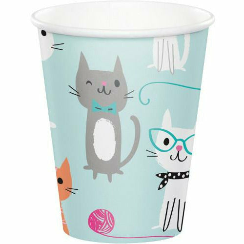 Purr-fect Party Cups 8ct