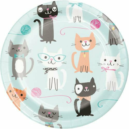 Purr-fect Party Lunch Plates 8ct