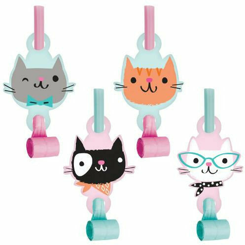 Purr-fect Party Blowouts with Medallion 8ct