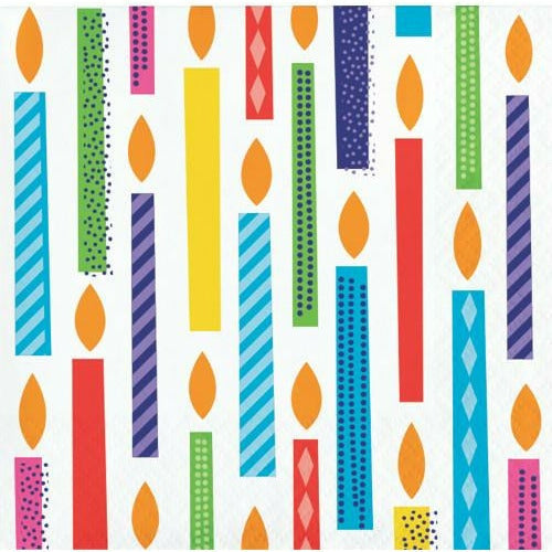 Bright Birthday Beverage Napkins 16ct