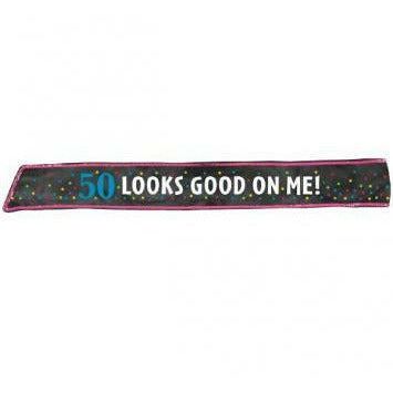 50TH BDAY SASH