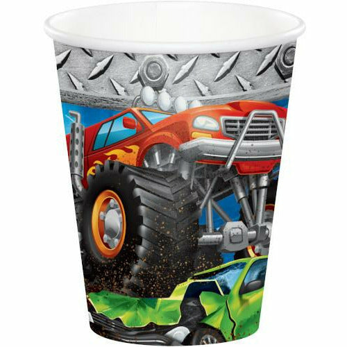 Monster Truck Rally Cups 8ct