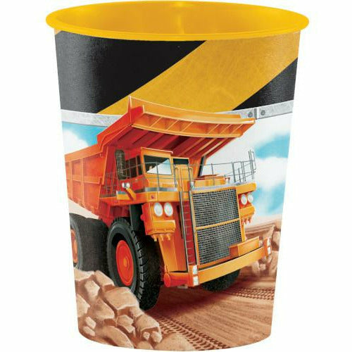 Big Dig Construction Favor Cup