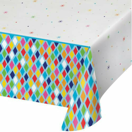 Bright Birthday Table Cover