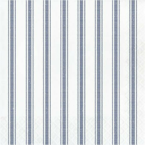 Galvanized Navy Lunch Napkins 16ct