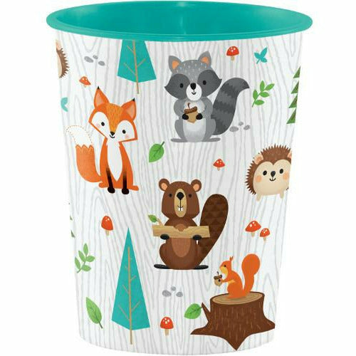 Wild One Woodland Animals Favor Cup