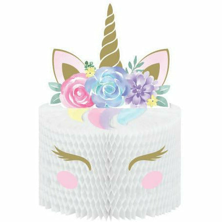 Unicorn Baby Honeycomb Centerpiece with Attachments