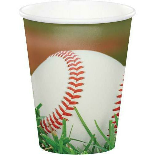 Sports Fanatic Baseball Hot / Cold Cups 8ct