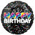 "466 Birthday Bold 18"" Mylar Balloon"