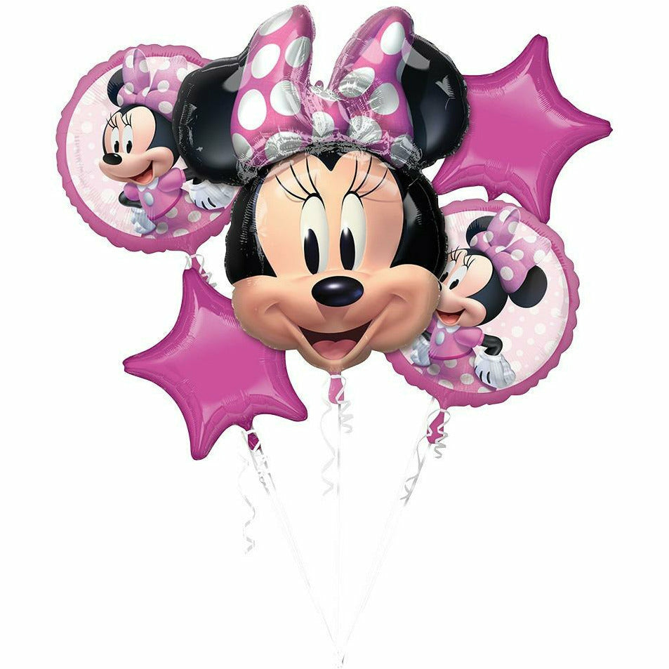 144 Minnie Mouse Forever Bouquet Mylar Balloon