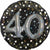 "364 3D 40th Birthday Jumbo 32"" Mylar Balloon"