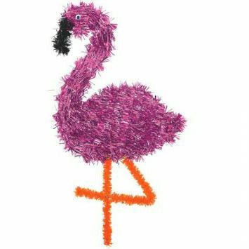 FLAMINGO TINSEL SHAPE