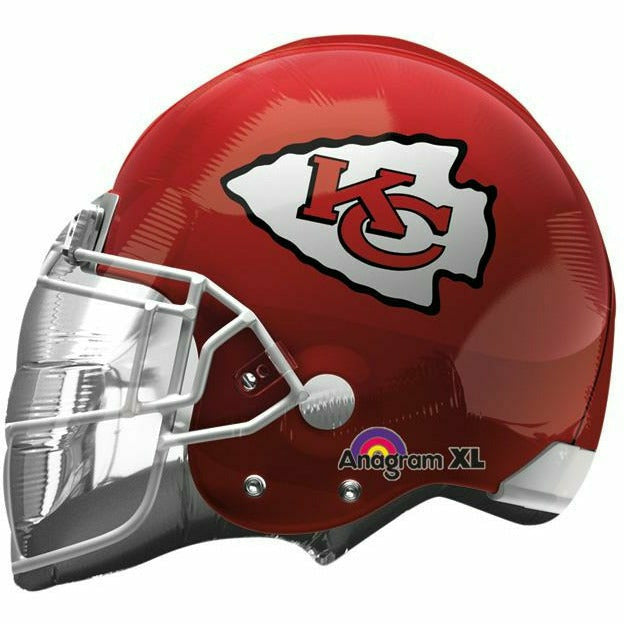 "NFL Kansas City Chiefs Helmet 21"" Mylar Balloon"