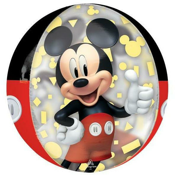 "131 Mickey Mouse Orbz Forever 16"" Mylar Balloon"
