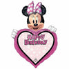"Happy Birthday Minnie Mouse Personalized Jumbo 34"" Mylar Balloon"