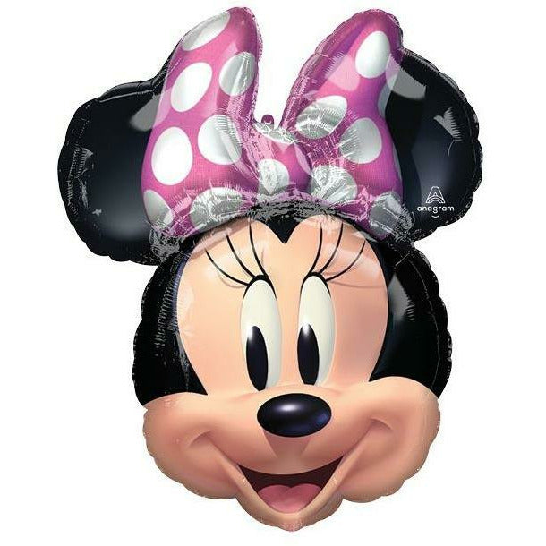 "134 Minnie Mouse Forever Jumbo 26"" Mylar Balloon"