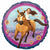"Spirit Riding Free 17"" Mylar Balloon"