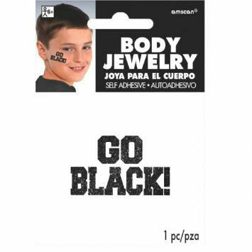 GO BODY JEWELRY BLACK