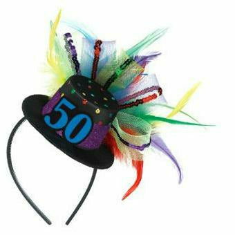 50th BDAY FASCINATOR