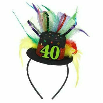 40th BDAY FASCINATOR