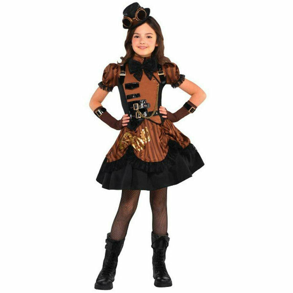 Girls Steampunk'd Costume