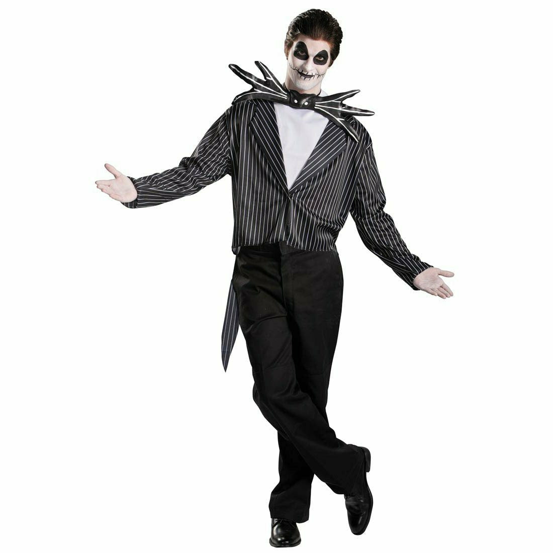 Mens Jack Skellington Adult Costume - Nightmare Before Christmas - S5