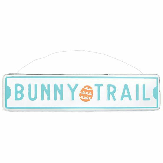 Bunny Trail Street Sign